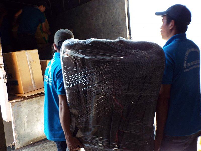 Dịch vụ taxi tải Khôi Nguyên chuyển văn phòng giá rẻ